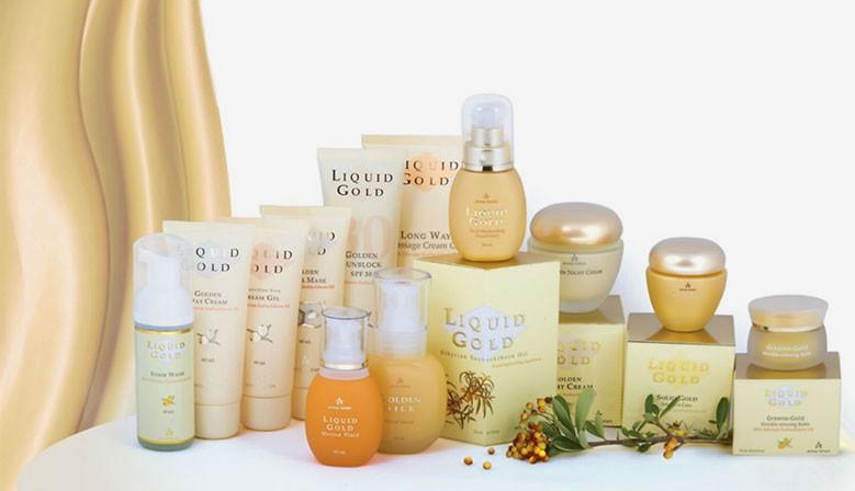 Серия Liquid Gold для сухой зрелой кожи
